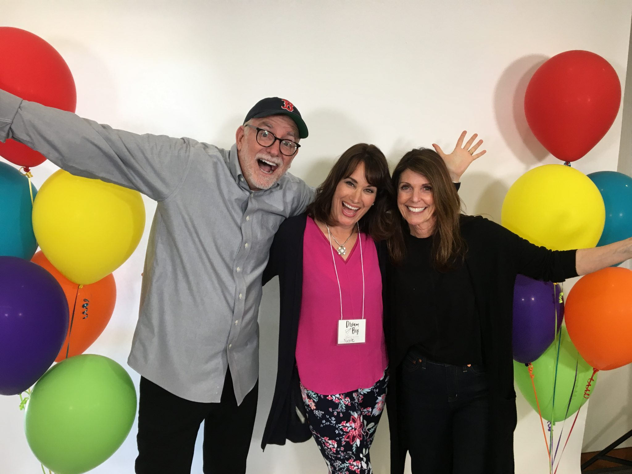 Bob Goff, Maria Goff and Nicole Phillips